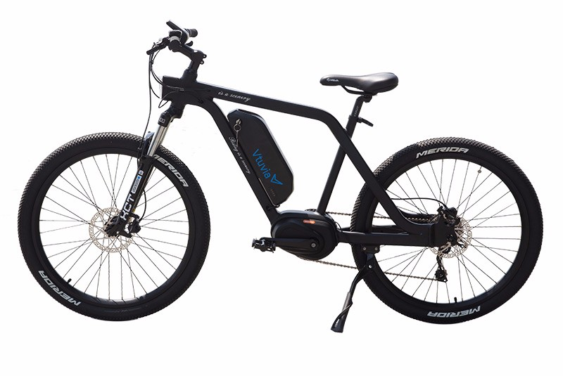 VTUVIA MM26 Black Mid drive Mountain Ebike