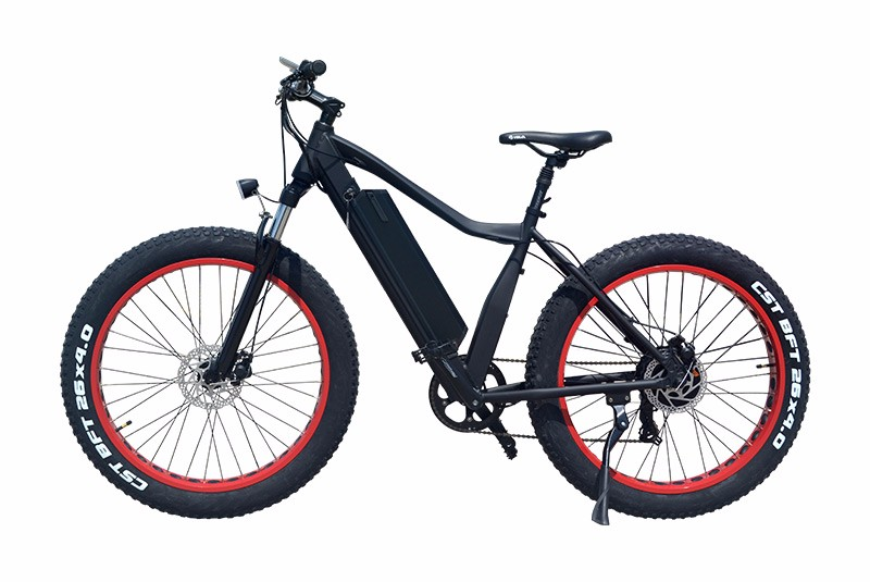 VTUVIA SJ26 Red Fat Tire Mountain Ebike