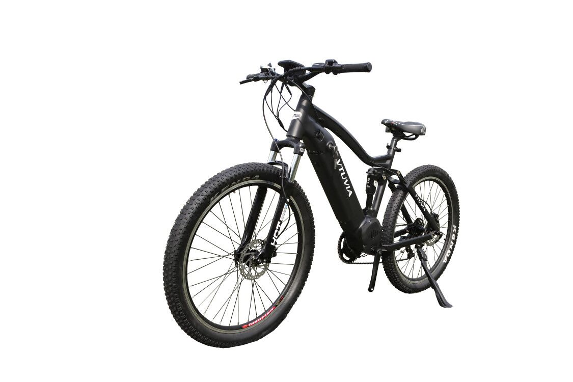 Newest Design 48V 1000W Bafang Mid Motor 27.5inch full suspension Electric Mountain Bike