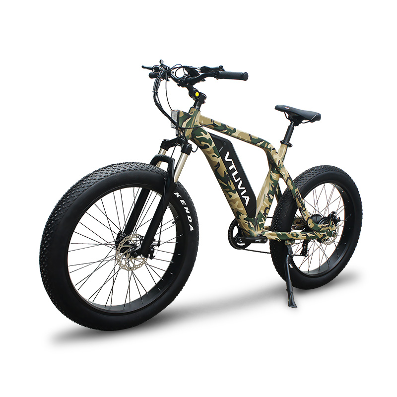 VTUVIA SN100 Hot selling Fat tire camouflage mountain electric bike