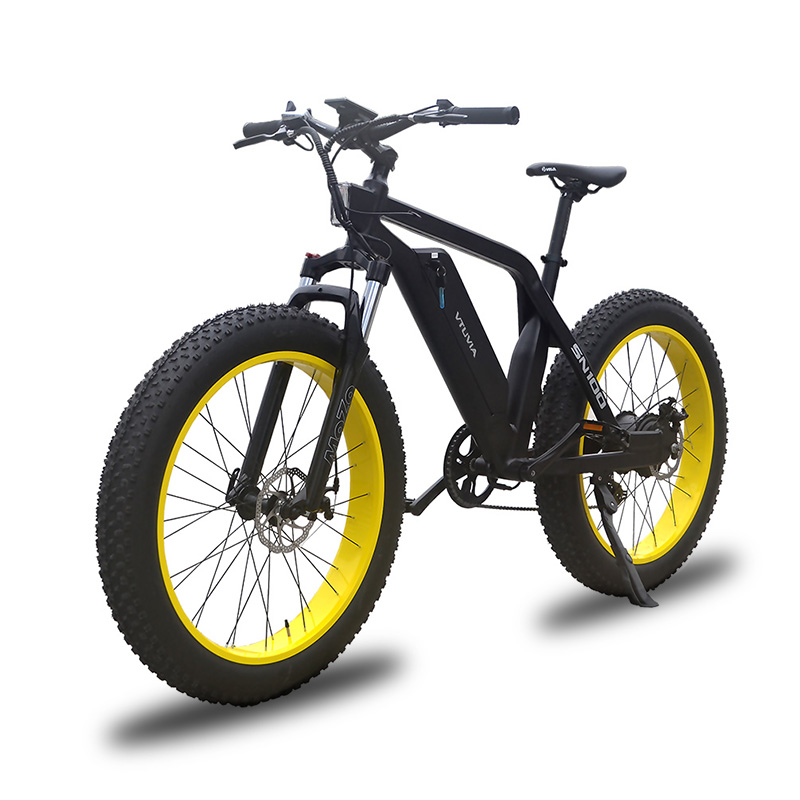 VTUVIA SN100 Yellow Fat Tire Mountain Ebike