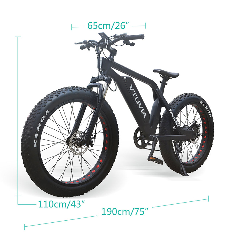 VTUVIA SN100 Mountain Ebike Parameters