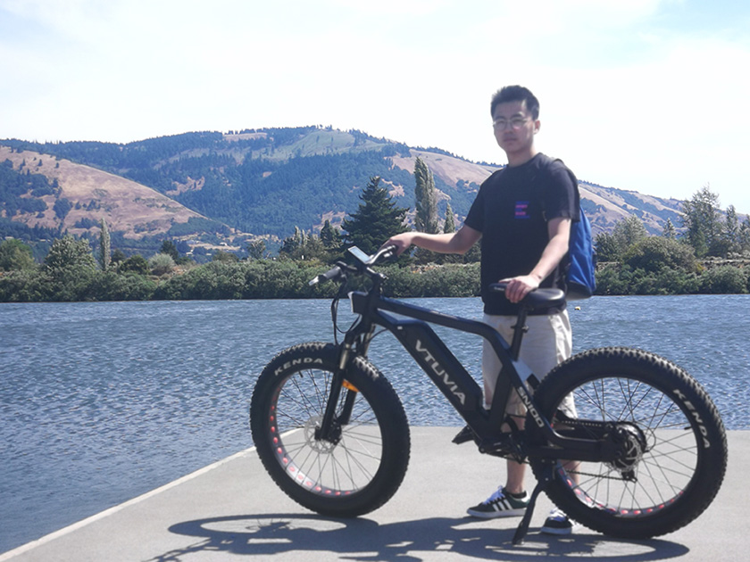 VTUVIA SN100 Fat Tire Mountain Ebike Pictures