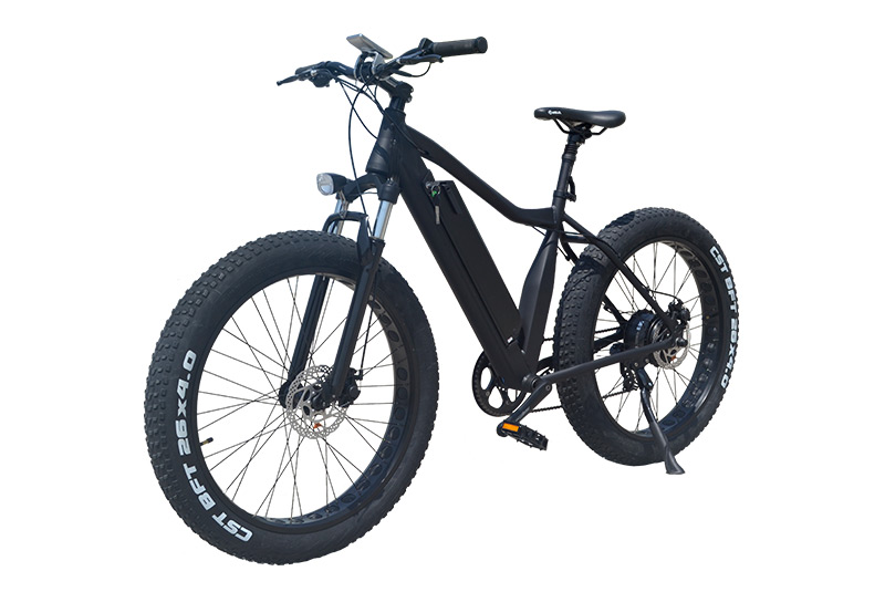 26 Inch 36V/48V 350W/500W/750W Fat Tire Electric Mountain Bicycle Black